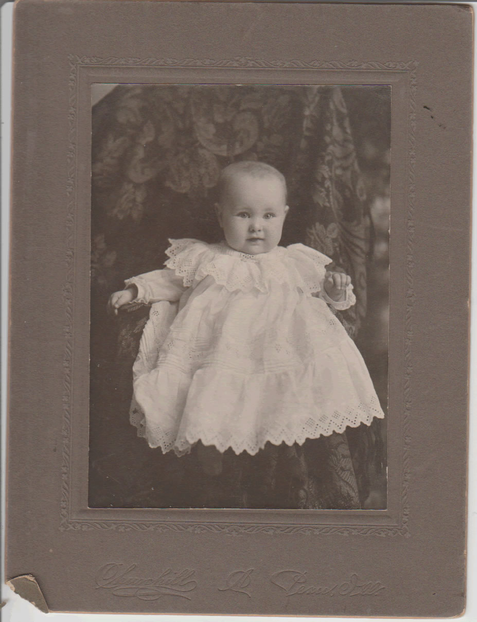 Amber Irene Coss at 7 months of age